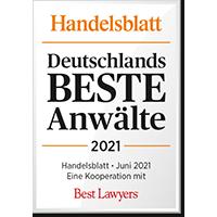 Germany's best lawyers 2021