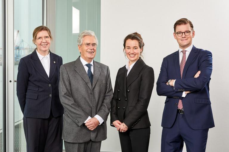 Das Team von GRAEWE Legal